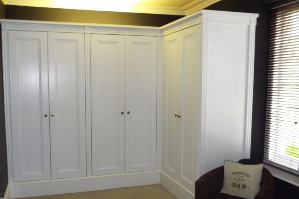 Truly bespoke fitted wardrobes - Bristol Bookcase Company