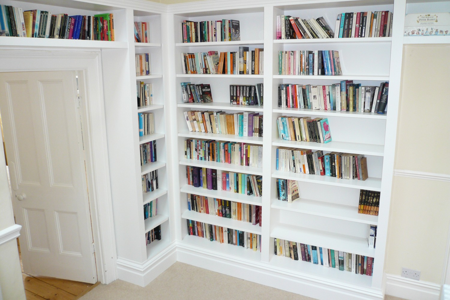 Custom made bookcases - Bristol Bookcase Company