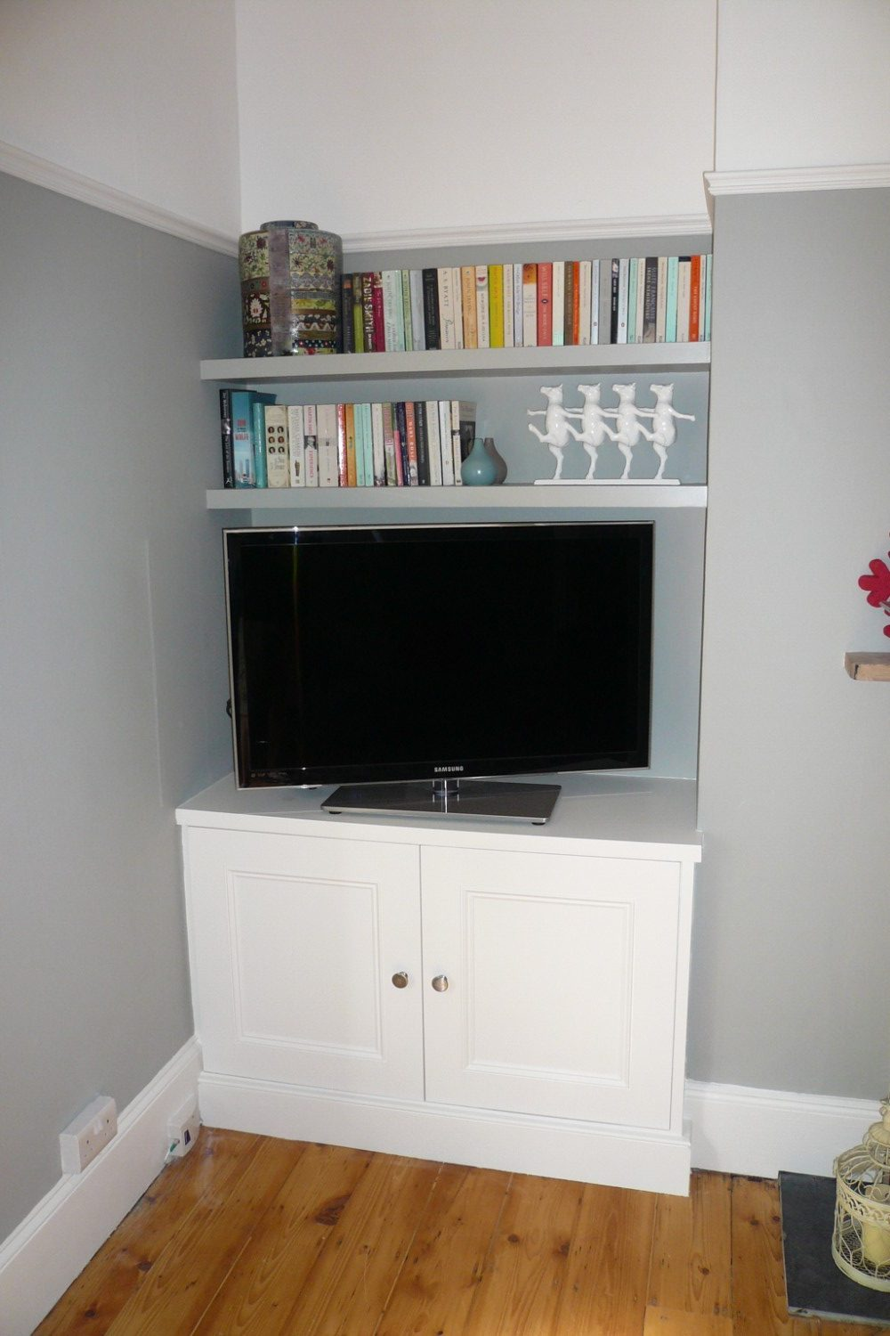 Media and Alcove Units - Bristol Bookcase Company